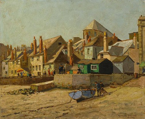 An image of Quayside, St. Ives, Cornwall by Charles Bryant