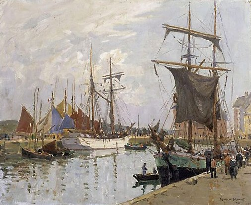 An image of The quay, Concarneau