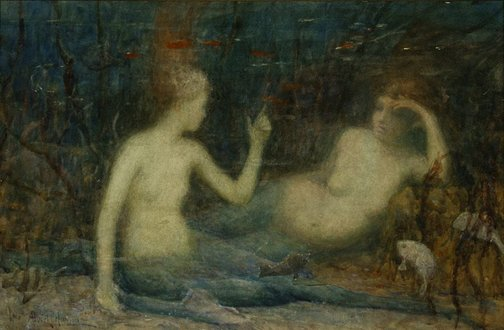 An image of Mermaids (under the sea) by Albert Hanson