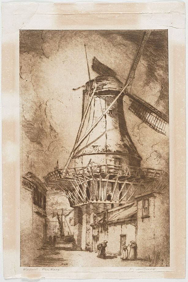 An image of Windmill, The Hague