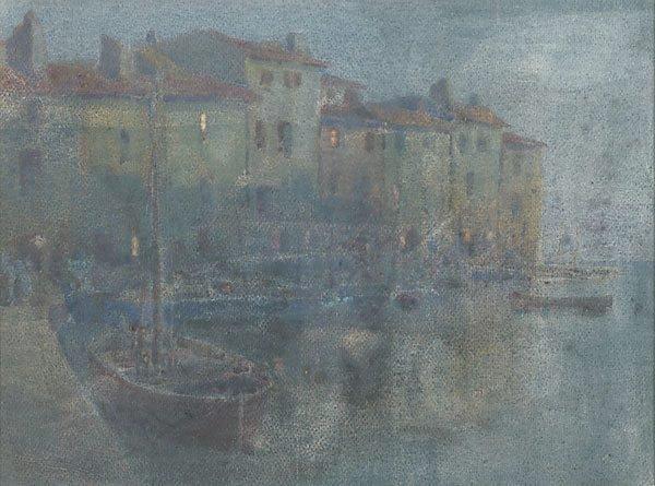 An image of Martigues, evening