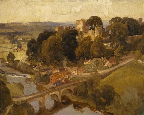 An image of Ludlow Castle by A Henry Fullwood