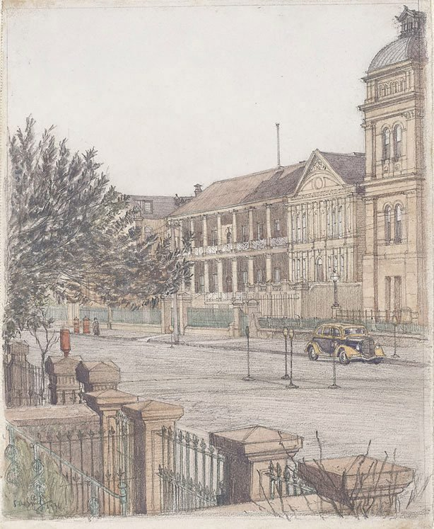 An image of Macquarie St (Parliament House)