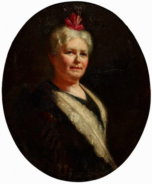 An image of Mrs W.A.B. Greaves by Tom Roberts