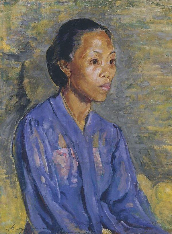 An image of Javanese in blue