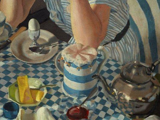 Alternate image of Breakfast piece by Herbert Badham
