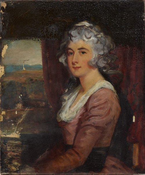 An image of Portrait of a lady by Unknown