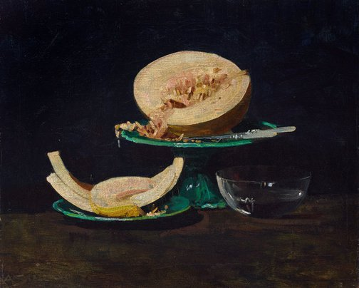 An image of The melon by Arthur Streeton