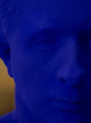 Alternate image of Portrait relief PR3 (portrait of Claude Pascal) by Yves Klein