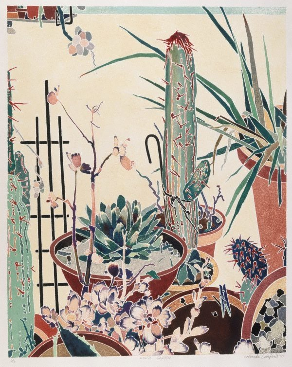 An image of Cactii garden