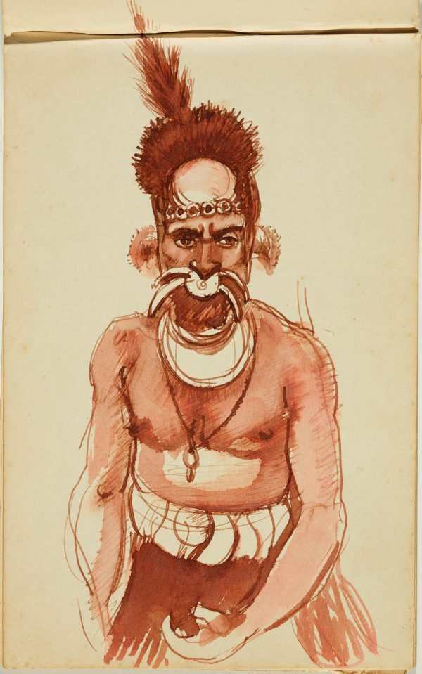 An image of Sketchbook, New Guinea