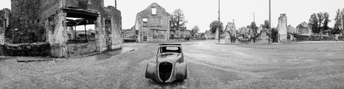 An image of Oradour sur Glane by John F Williams