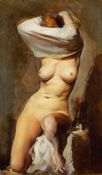 An image of Nude by Alexandre Iacovleff