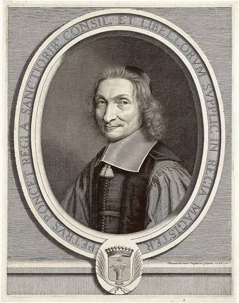 An image of Pierre Poncet by Robert Nanteuil