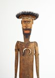 Alternate image of Decorated male figure by Awiyaana (Auyana) people