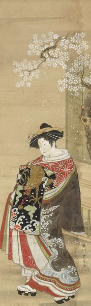 An image of A beauty [Bijin] by Utagawa Toyoharu