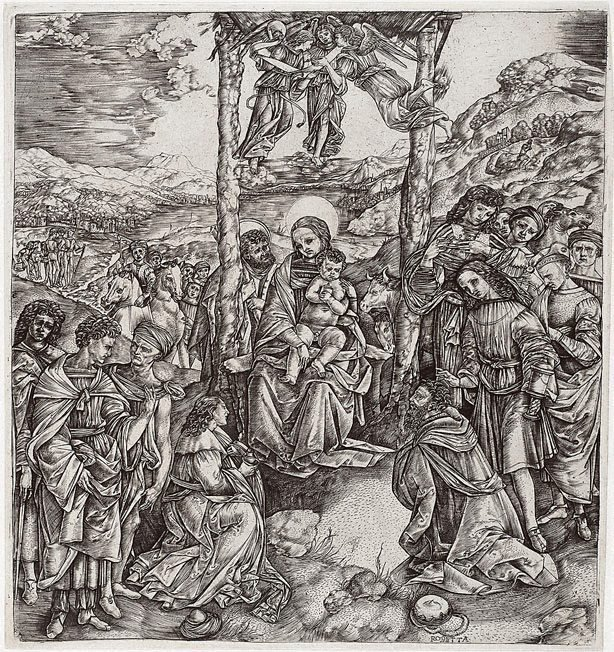 An image of Adoration of the Magi