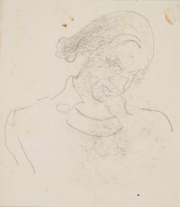 An image of (Study of woman's head) (London genre)