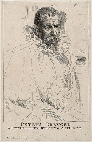 An image of Pieter Brueghel the Younger by Sir Anthony van Dyck