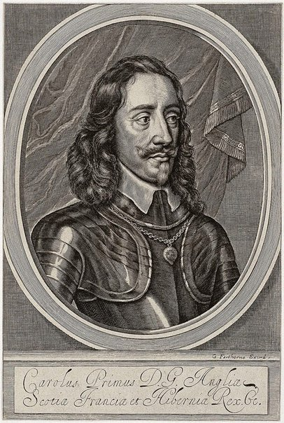 An image of Charles I by William Faithorne