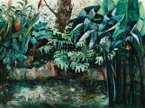 An image of Tropical garden by Sali Herman