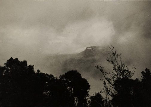 An image of Coming storm, Katoomba by Norman C Deck