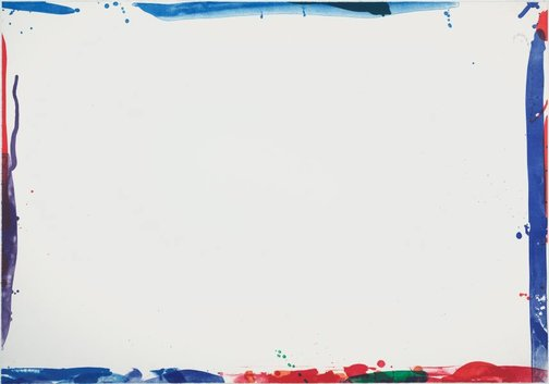 An image of Untitled by Sam Francis