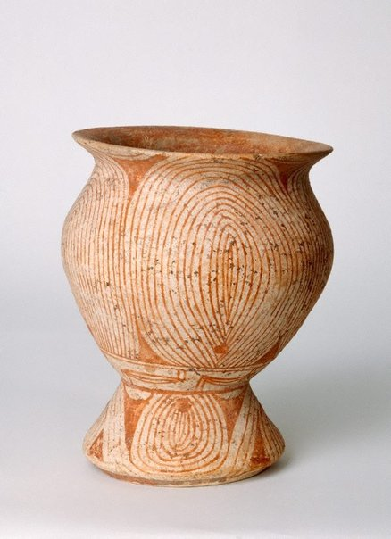 An image of Pedestal bowl by Ban Chiang ware