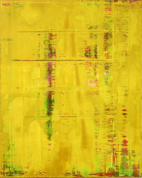 An image of Abstract painting (812) by Gerhard Richter