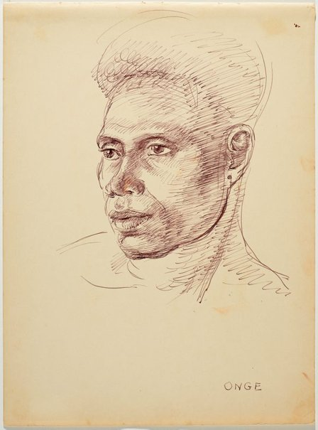 An image of Onge by Nora Heysen