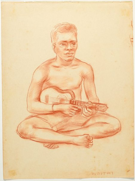 An image of Waitai by Nora Heysen