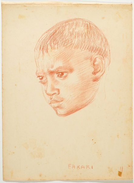 An image of Fakari by Nora Heysen