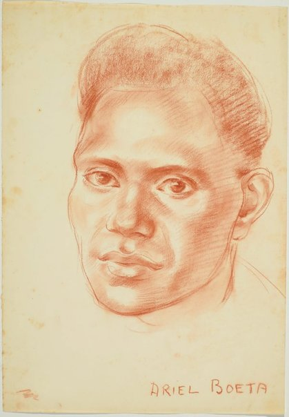 An image of Ariel Boeta by Nora Heysen