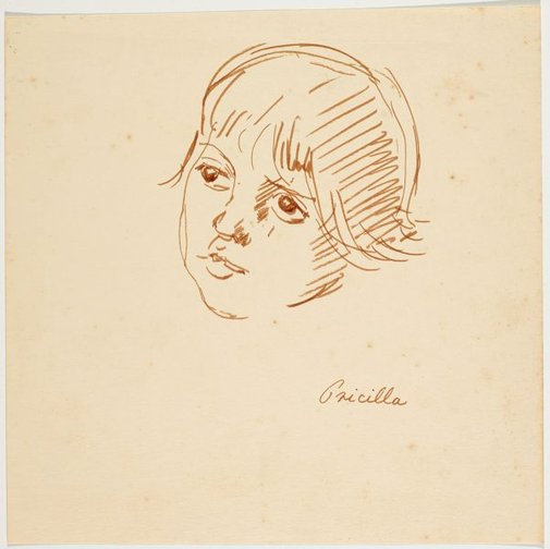 An image of Pricilla by Nora Heysen