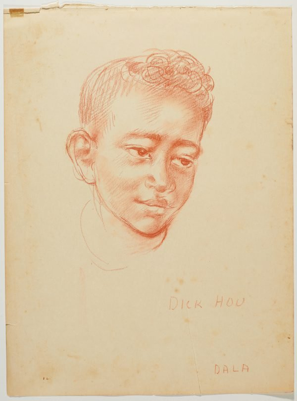 An image of recto: Dick Hou (Dala) verso: Sepo (Simon)