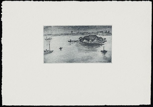 An image of The island, Iron Cove