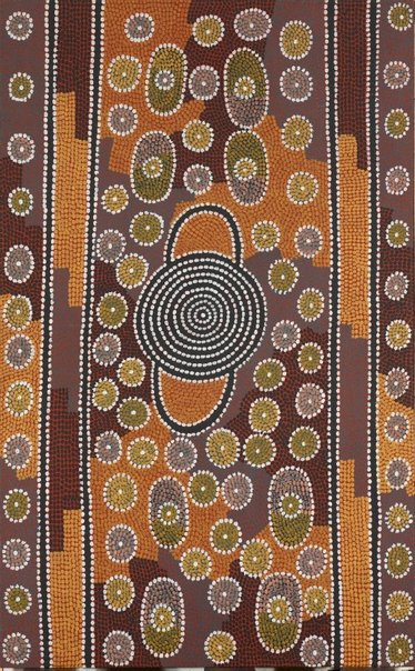 An image of Ilpitirri by Billy Stockman Tjapaltjarri