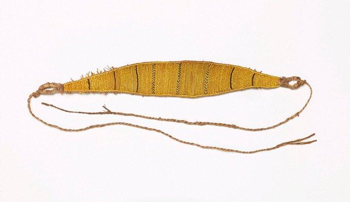 Alternate image of Dɨza (man's headband) by