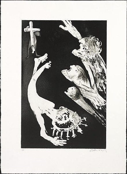 An image of Crucifixion by Arthur Boyd