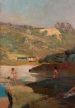 Alternate image of Tamarama Beach, forty years ago, a summer morning by Julian Ashton