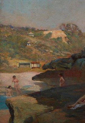 Alternate image of Tamarama Beach, forty years ago, a summer morning by Julian Ashton