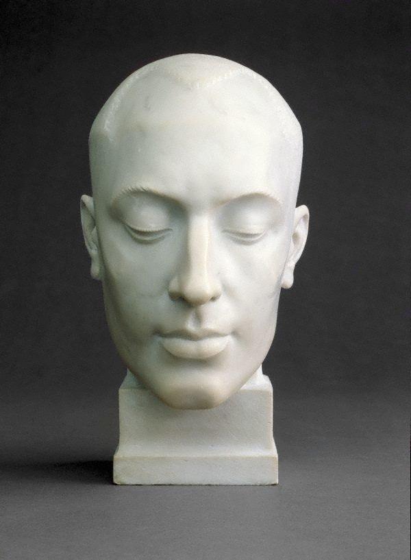 Decorative portrait - Len Lye, (1925) by Rayner Hoff