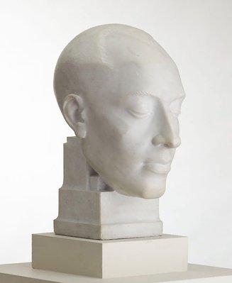 Alternate image of Decorative portrait - Len Lye by Rayner Hoff