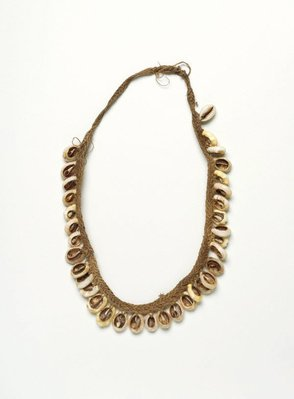 Alternate image of Cowrie shell necklace by