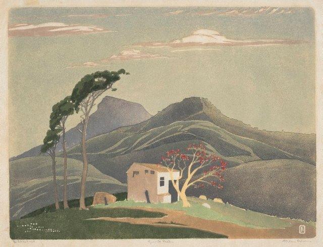 An image of Granite peaks
