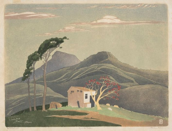 AGNSW collection Ethleen Palmer Granite peaks 1938