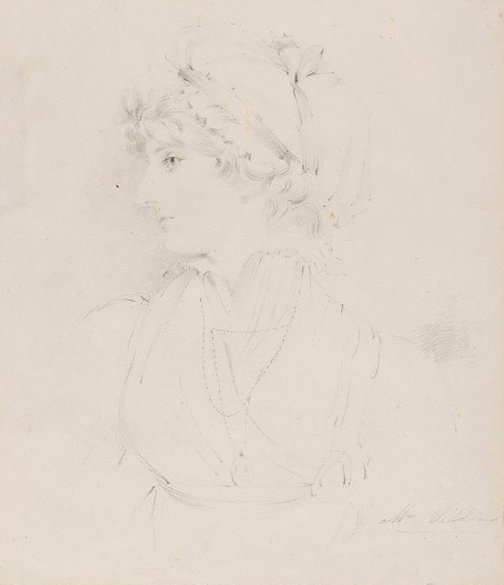An image of Mrs Siddons by follower of Sir Thomas Lawrence
