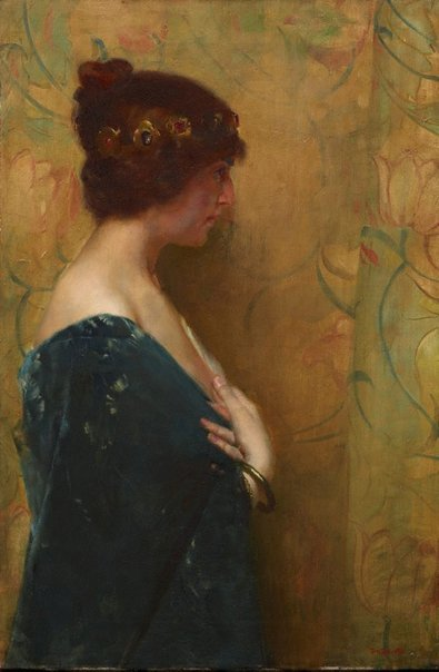 An image of A study of Jephthah's daughter by Tom Roberts
