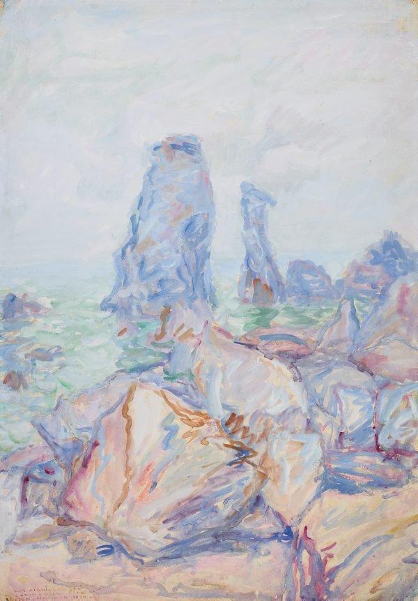 An image of Les aiguilles de Coton, Belle-Île