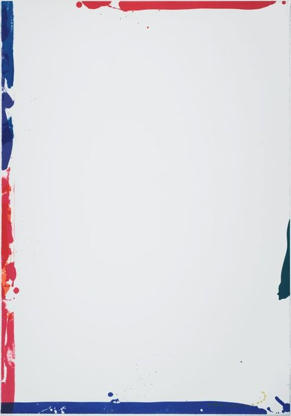 An image of Sail I by Sam Francis
